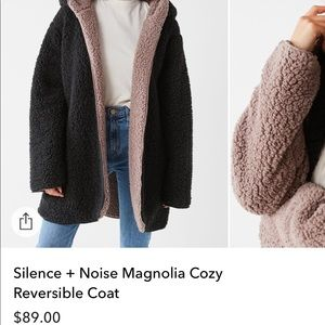 Urban fuzzy jacket/coat!